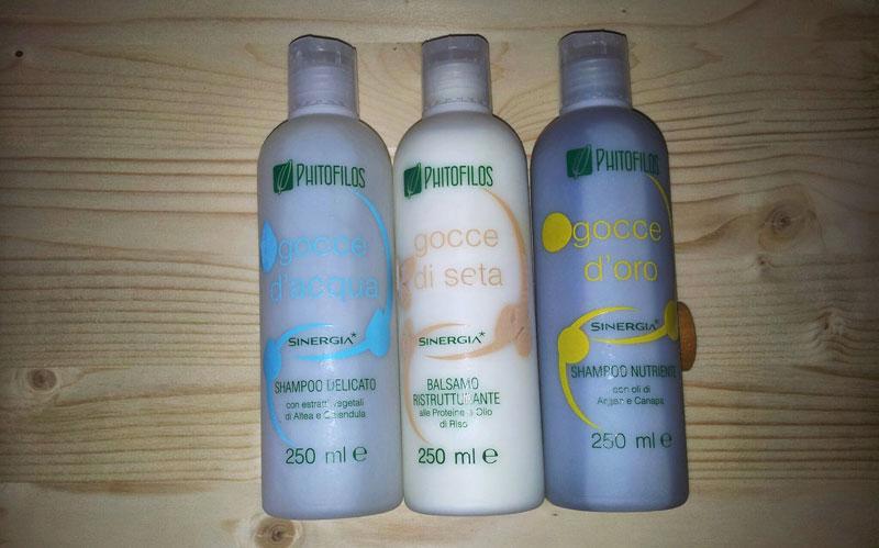 Phitofilos shampoo e balsamo Sinergia