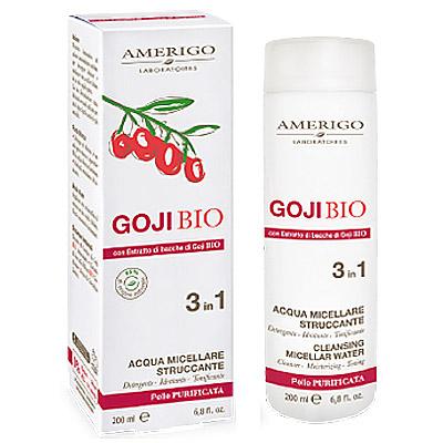 Goji Amerigo Acqua Micellare Struccante 3in1