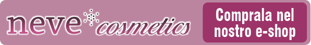 Neve Cosmetics banner articoli