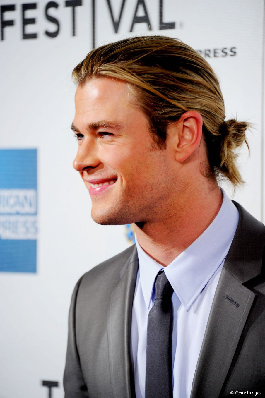 Chris Hemsworth in arte Thor