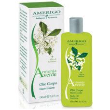 Amerigo olio corpo elasticizzante Armonia Verde