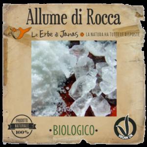 Le erbe di Janas Allume di Rocca