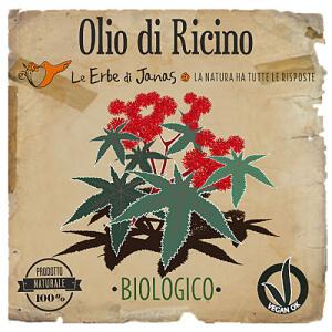 Olio di Ricino erbe di janas