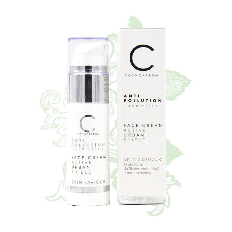 crema viso antipollution cosmofarma adorabilenatura